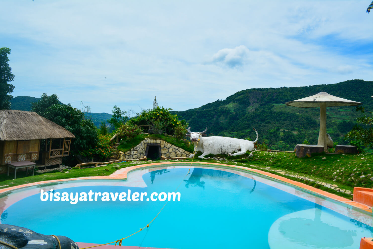 Coal mountain resort a scenic retreat tucked away in for Pool garden mountain resort argao