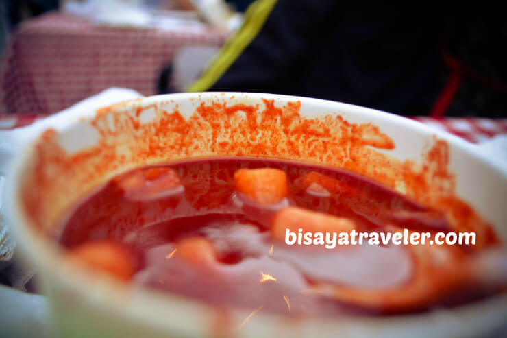 A Korean food in Cebu
