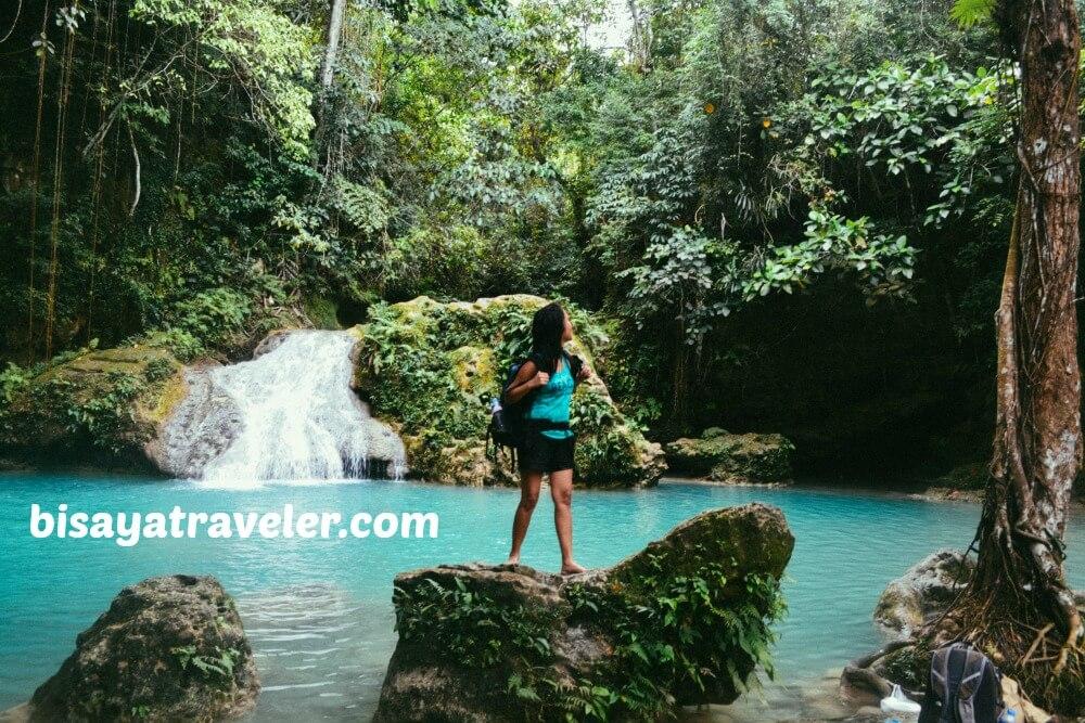 Waterfalls in Alegria, Cebu