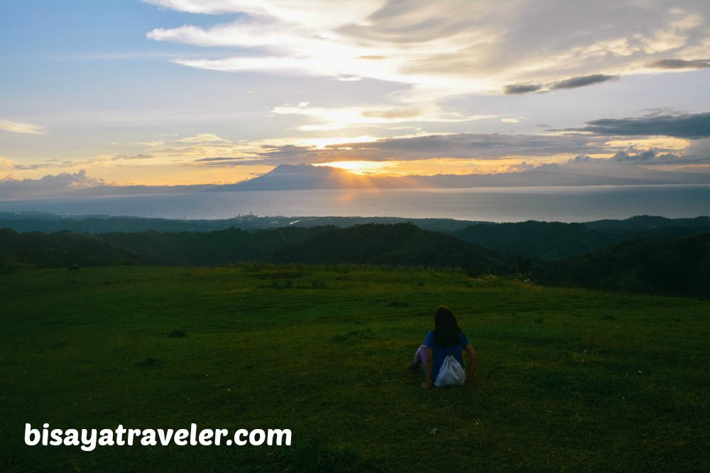 Sunset In Mount Tagaytay: Relishing Life's Simple Pleasures